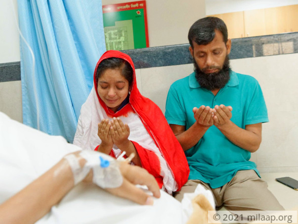 Help Mushfiqur Recover From Acute Lymphoblastic Leukemia