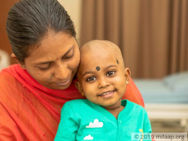 Help Parnika to fight disease