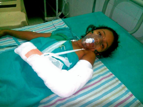 Help My Friend Harishita Thakur Recover From Accident