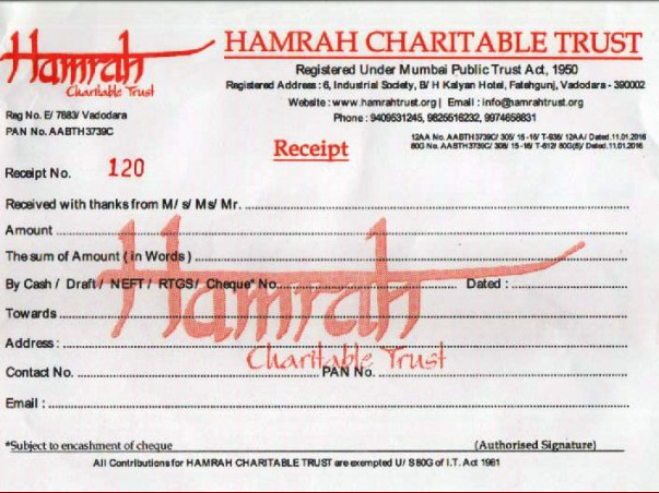 HELP AND SUPPORT FOR PATIENTS OF HAMRAH TRUST