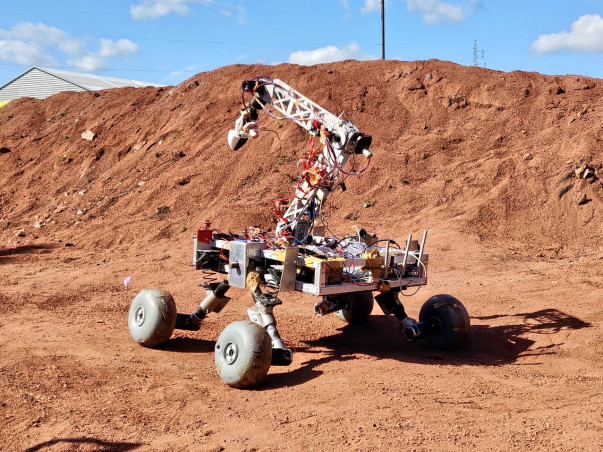 Support Team Vyadh's Martian Rover for URC 2019