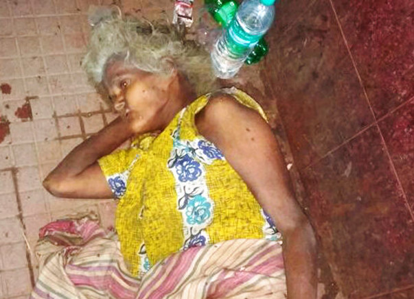On Hospital's Death Bed With A Head Full Of Maggots, Please Save Her
