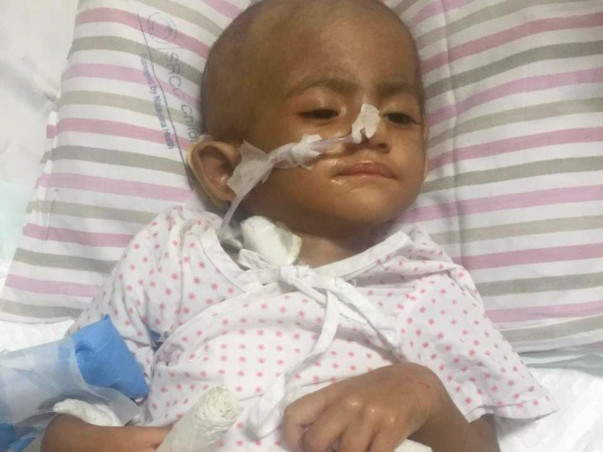 Help My Daughter Recover from Tumor.