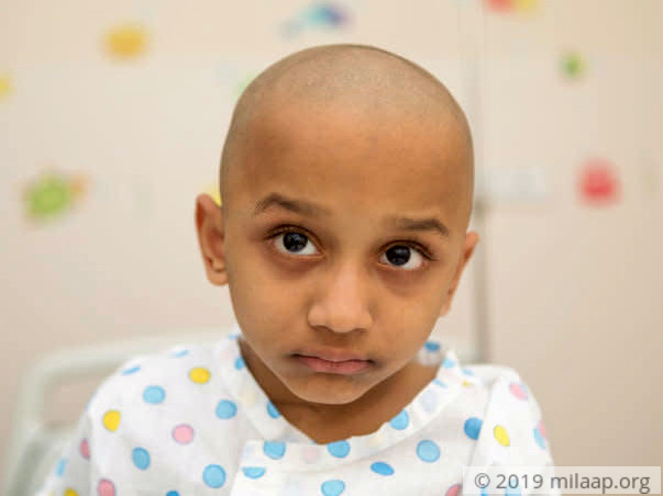 Help 3-year-old Saavi fight cancer