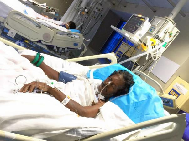 Help Kothandaraman Fight Unconsciousness After An Accident