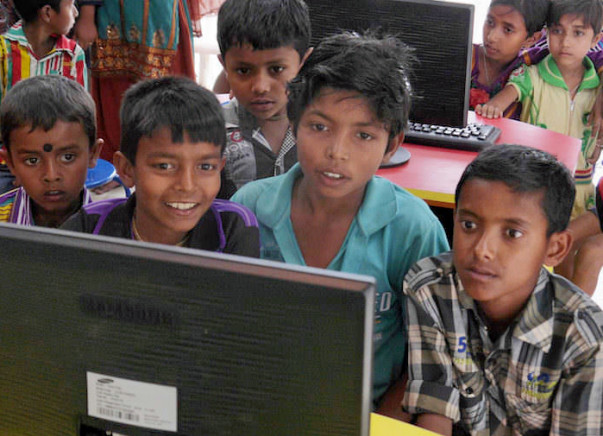 Support Village Kids for their free computer education.