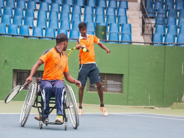 Sending Shilpa & Shekhar to International Wheelchair Tennis Tournament