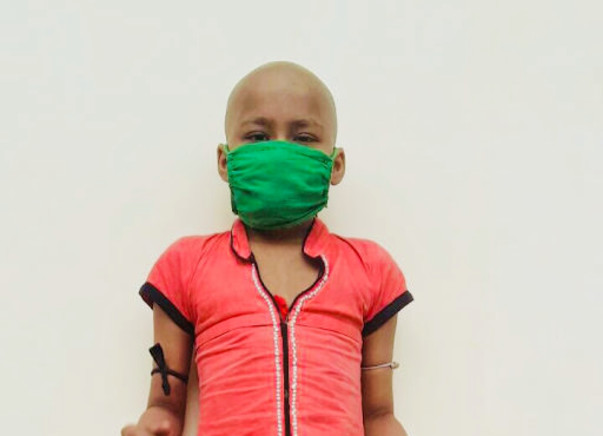 Help 8year's old baby laxmi to fight from cancer