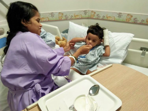 Help 1-year-old Aaradhya fight severe Pneumonia