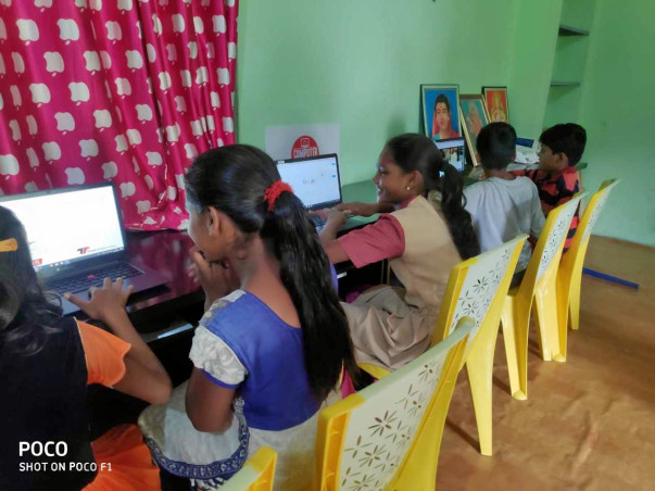 Computer Mitra - Mobile Computer Lab For Rural Schools