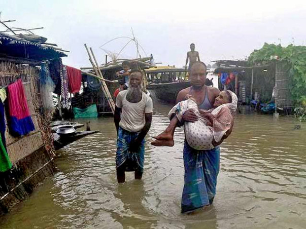 Donate for flood in Mankachar, Assam