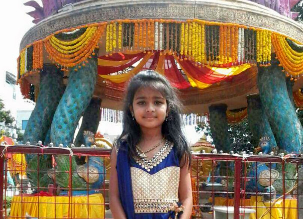 Help V.Hansika (8 Years Girl) for Brain Hemorrhage  treatment