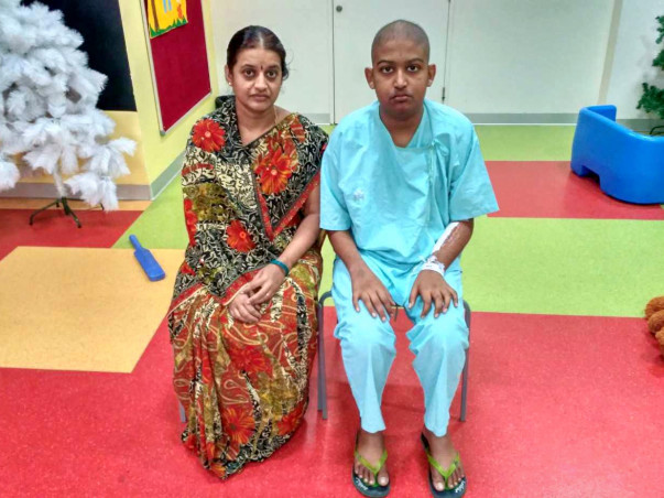 14-year-old Mithun needs our help to fight cancer