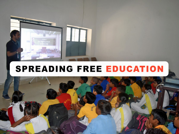 Help Us Spread Free Online Education