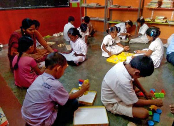 Peace Ride: Educational Support for children, Malleshwaram