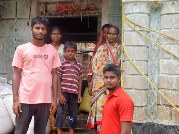 "Donate To""Most Inspirational Eco-Activist DILLIP,Lost House in Cyclone"