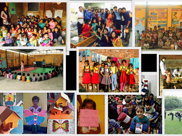 Educate 350 slum children!