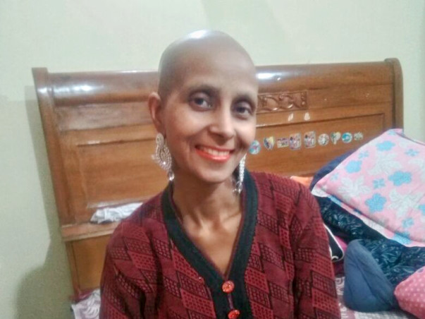 Help Veena To Fight Cancer