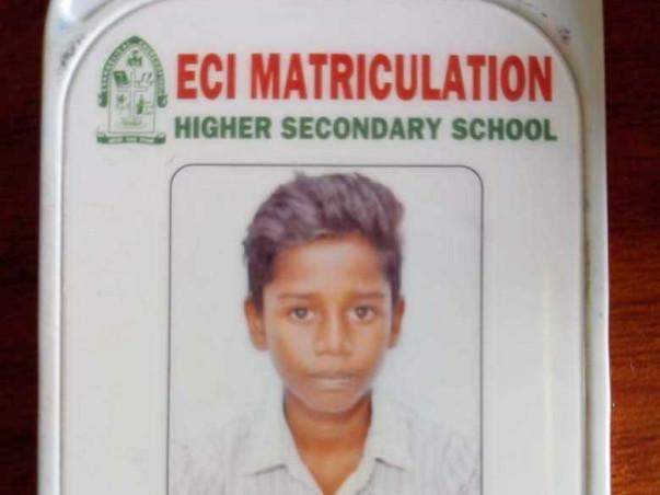Help Prabhu Complete His Education