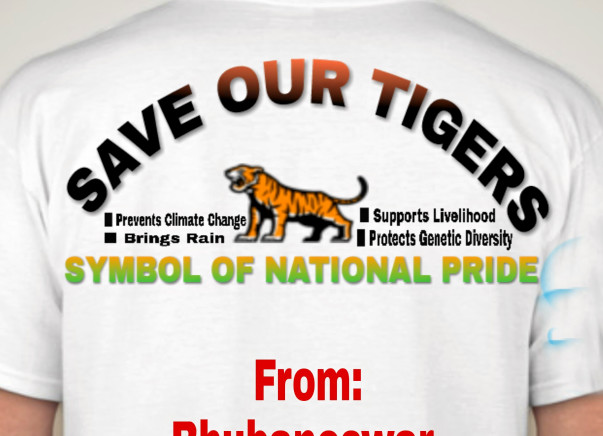 Help In The Third State Level Cycle Marathon For Saving The Tiger