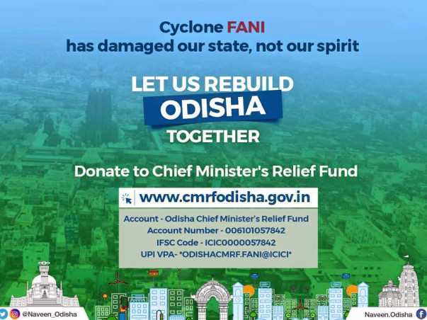 Donate for Odisha Cyclon Victims -Fundraiser-Relief & Rehabilitation