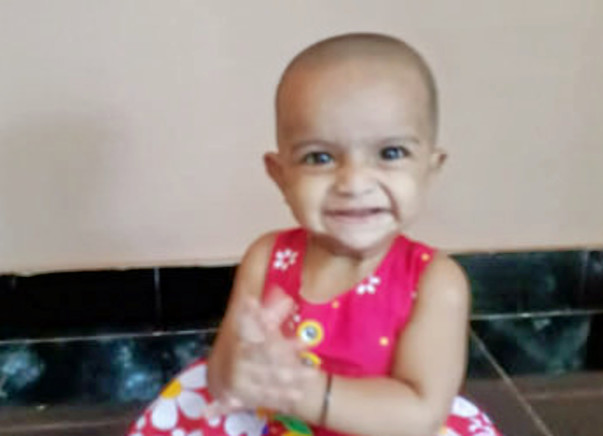 Help 11-month-old Ayisha fight aplastic anemia so that she can live