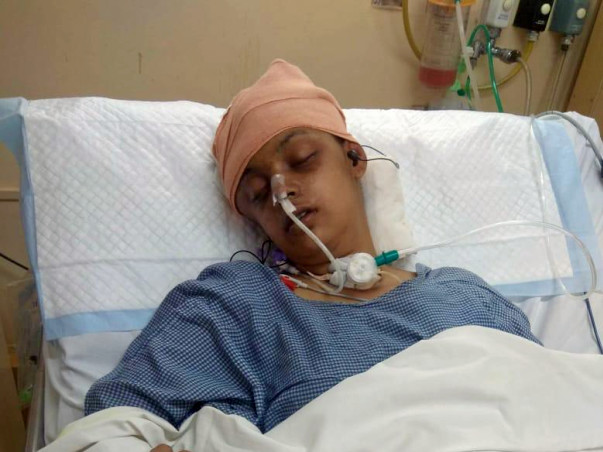 22 Year old Soumya Sinha Needs Your Help To Recover From An Accident!