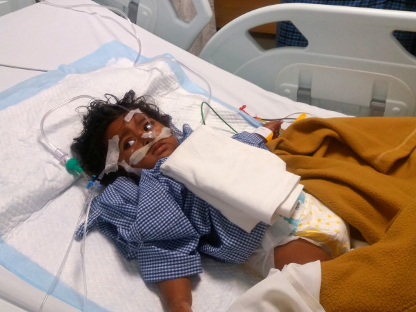 Pneumonia Is Choking This Baby And His Parents Need Help Saving Him