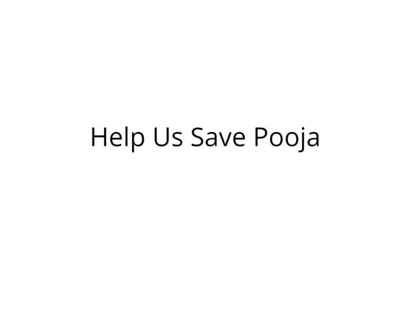 Help Pooja Fight Thyroid Cancer
