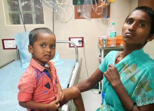 You Can Help Baby Pranaya Speak Again