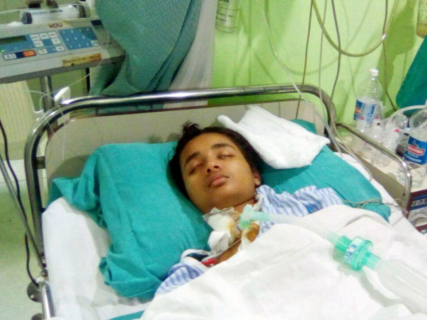 Riya, 16, needs your help to recover from a spinal injury