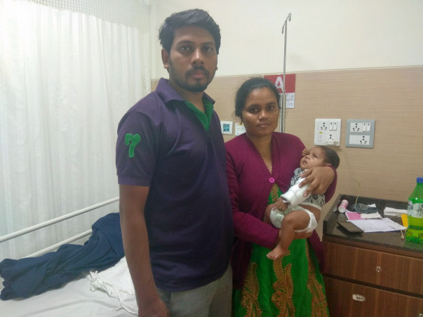 My 3-Month-Old Daughter Urgently Needs a Heart Surgery to Survive