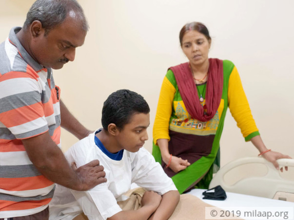Help Shashwat Kumar Recover From Acute Myeloid Leukemia