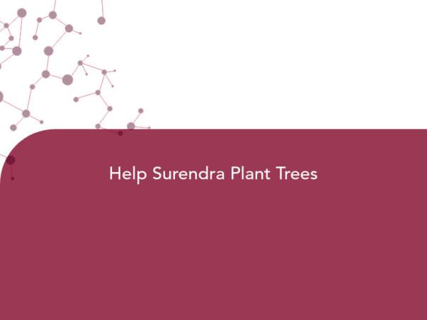 Help Surendra Plant Trees