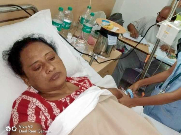 Help Rekha Roy Recover From Cancer