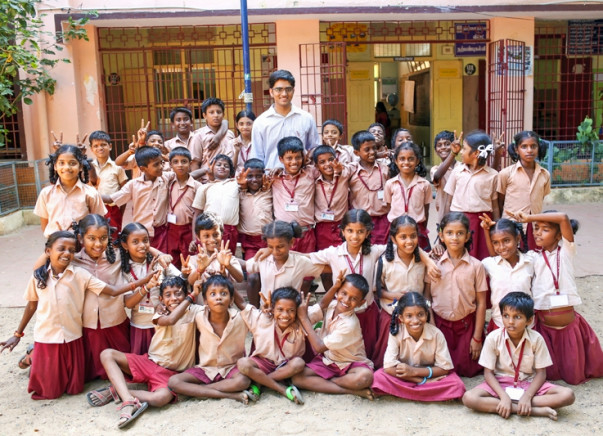 Gurucharan's fundraiser to bring technology to the classroom