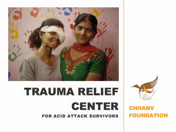 Help US Build A Home For Acid Attack Survivors