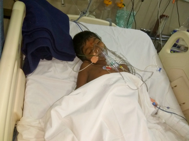 Sachin Is In The ICU And Needs Your Help