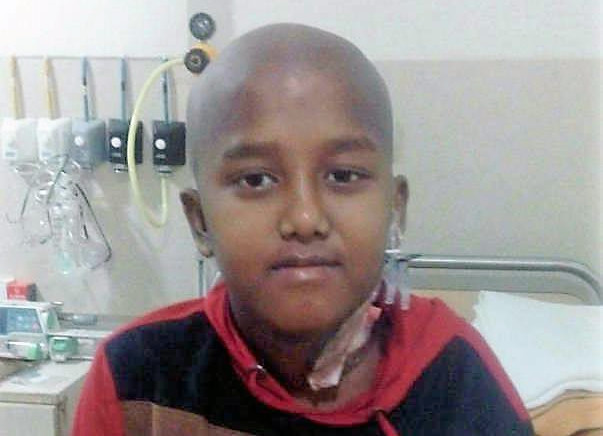This Forest department worker's son needs your help to survive.
