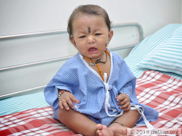 Ayushi needs your help to fight disease