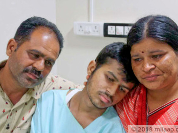 Help Praveen Fight Cancer.