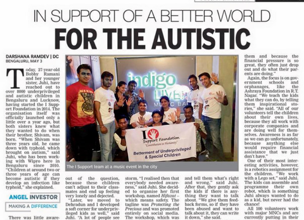 I am running a marathon to autism and We- a help to create an inclusive platform for Autism