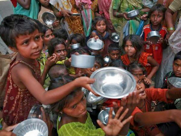 Help Street Child Beggars For Food And Education