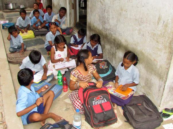 Improve facilities for special child labor school in a Slum of Guntur