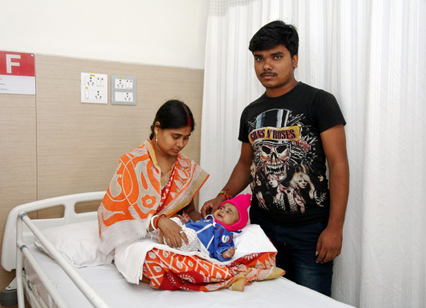 Help 4-month-old Adriti fight a severe heart disease