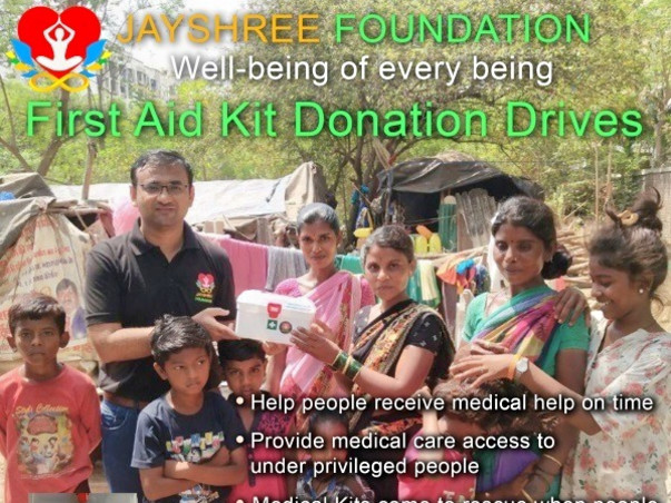 Sponsor medical kits for needy