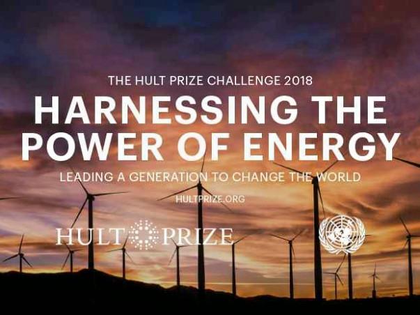 Eureka at the Hult Prize Regional Finals 2018