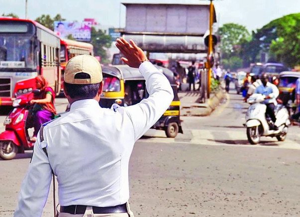 Pune Traffic Police Station Beautification