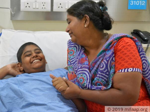Help Prajwal fight clear cell sarcoma soft tissue