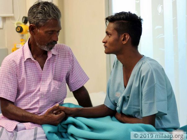 Help Selva Raj Undergo An Open Heart Surgery